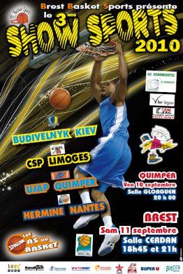 Affiche Basket